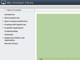 Как создать простой вход в приложение в редакторе Applescript