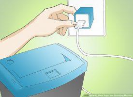 Как измельчить бумагу в шредере