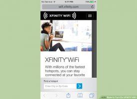 Как включить XFINITY WiFi
