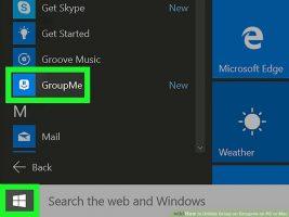 Как отобразить Groupme на ПК или Mac