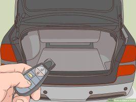 Как открыть багажник