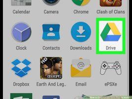 Как скопировать файлы на Google Drive с Android
