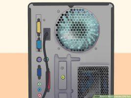 Как сделать вентилятор процессора светящимся