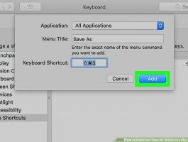 Как включить опцию «Сохранить как» на Mac