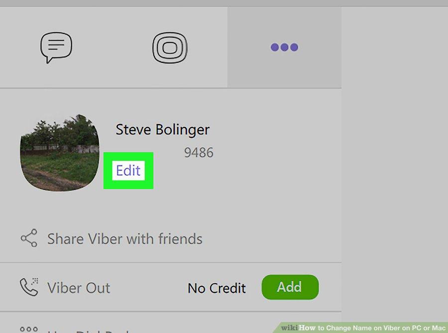 Как изменить своё имя в Viber на ПК или Mac