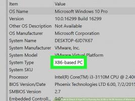 Ваш компьютер работает под управлением 32-разрядной или 64-разрядной версии Windows? Как проверить