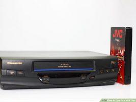 Как ухаживать за касетой VHS