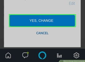 Как изменить язык Alexa