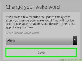Как изменить «слово пробуждения» в приложении «Alexa»