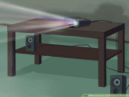 Как подключить DVD-плеер к проектору