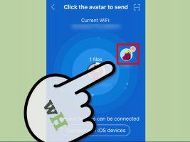Как загрузить файлы с iOS на ПК через SHAREit