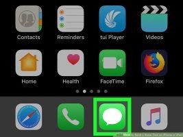 Как отправить голосовое сообщение c iPhone или IPad