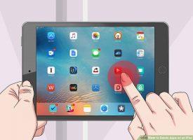 Как удалять приложения на iPad