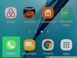 Как скрыть свой номер телефона на Samsung Galaxy