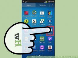 Как жестами отключить звук на Samsung Galaxy S4