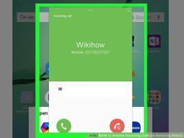 Как отвечать на входящие звонки на Samsung Galaxy