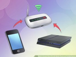 Как подключить Sony PS4 к мобильным телефонам и портативным устройствам