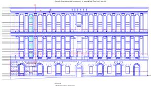 Геодезическая съемка фасадов