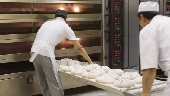 процесс производства хлеба