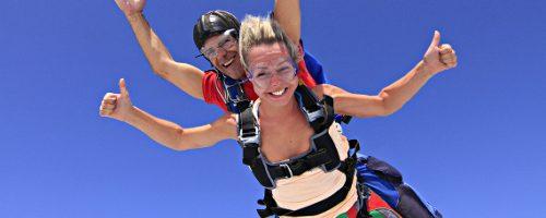Прыжок с парашютом: как избавиться от страха?